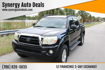 2005 Toyota Tacoma PreRunner V6 4dr Double Cab Rwd SB Pickup Truck - 070783 - Image 1