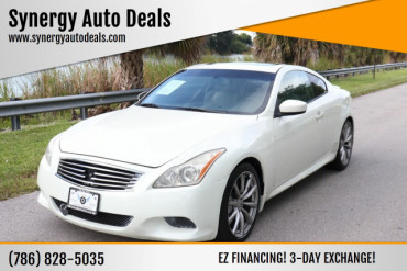 2008 Infiniti G37 Sport 2dr Coupe Coupe - M106390 - Image 1