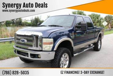 2008 Ford F-250 Super Duty Lariat 4dr Crew Cab 4WD SB Pickup Truck - A10290 - Image 1