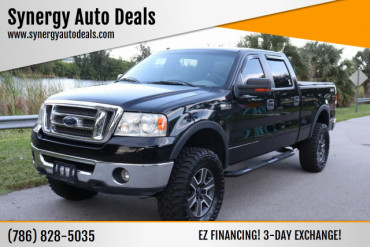 2008 Ford F-150 XLT 4x4 4dr SuperCrew Styleside 5.5 ft. SB Pickup Truck - A03146 - Image 1