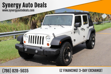 2008 Jeep Wrangler Unlimited X 4x4 4dr SUV SUV - 560863 - Image 1